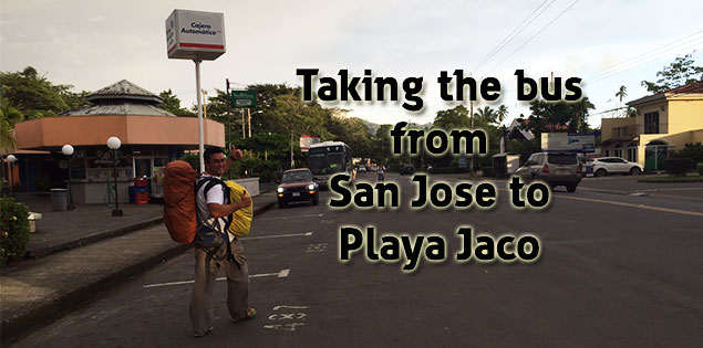 taking the bus from san jose to playa jaco featured