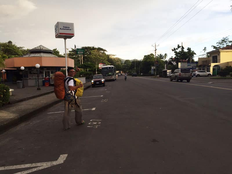 taking the bus from san jose to playa jaco jaco bus station