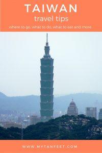 Tips for visiting Taiwan