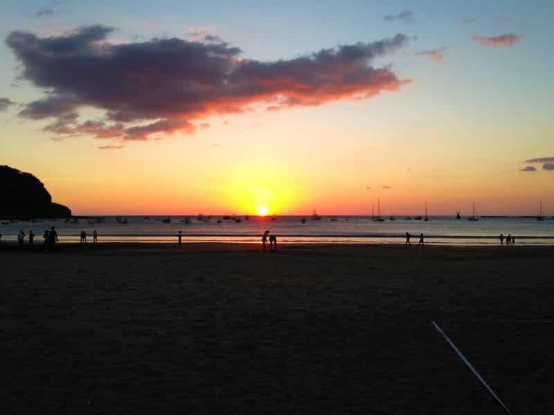 3 day itinerary in san juan del sur, nicaragua - sunset