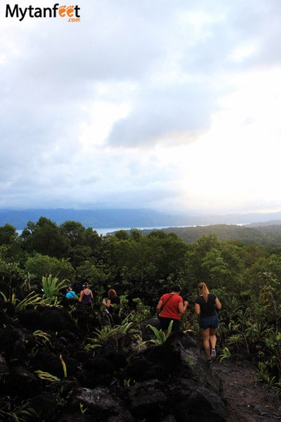 things to do in la fortuna and arenal - arenal volcan national park hike