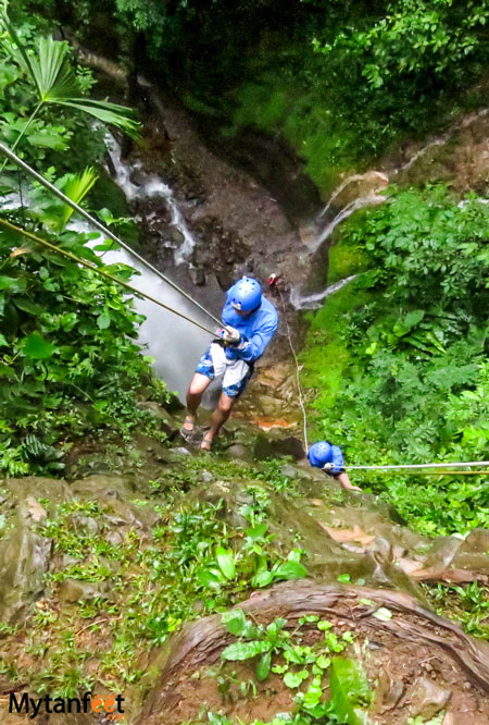 things to do in la fortuna and arenal - canyoning
