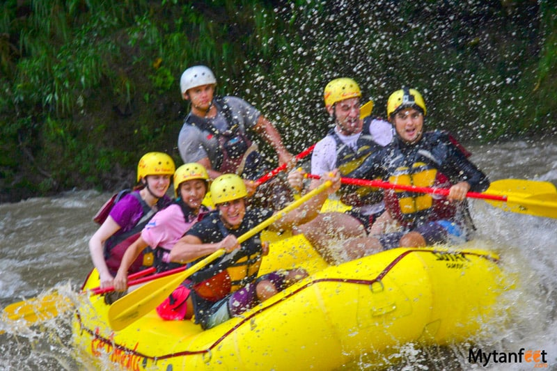 things to do in la fortuna and arenal - white water rafting