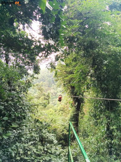 things to do in la fortuna and arenal - ziplining
