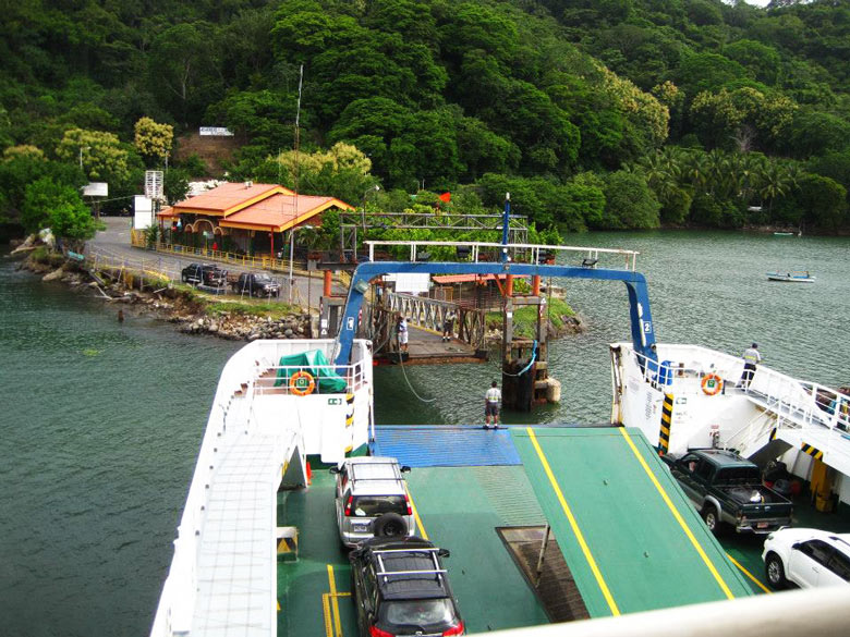 2 Week Costa Rica itinerary - Puntarenas ferry