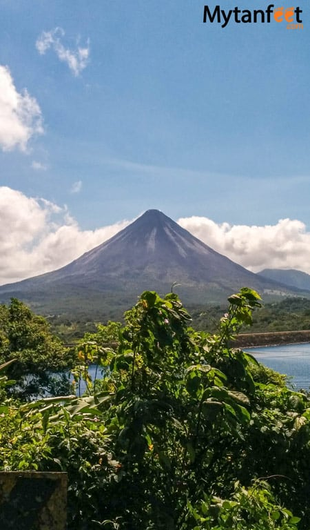 2 week Costa Rica itinerary - Arenal Volcano on day 2
