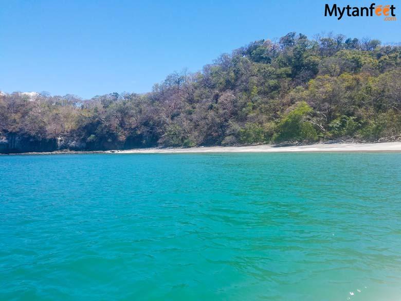 Playa Huevo beach in Gulf of Papagayo