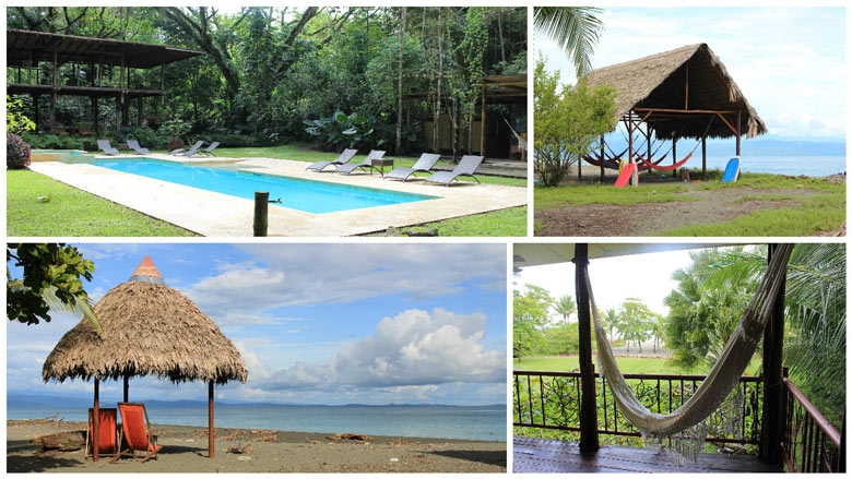 Iguana Lodge in Osa Peninsula - property