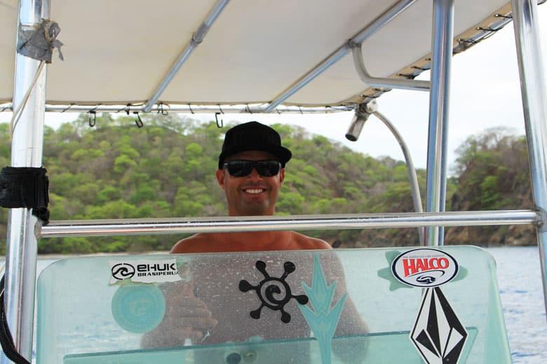 Marcy boat captain