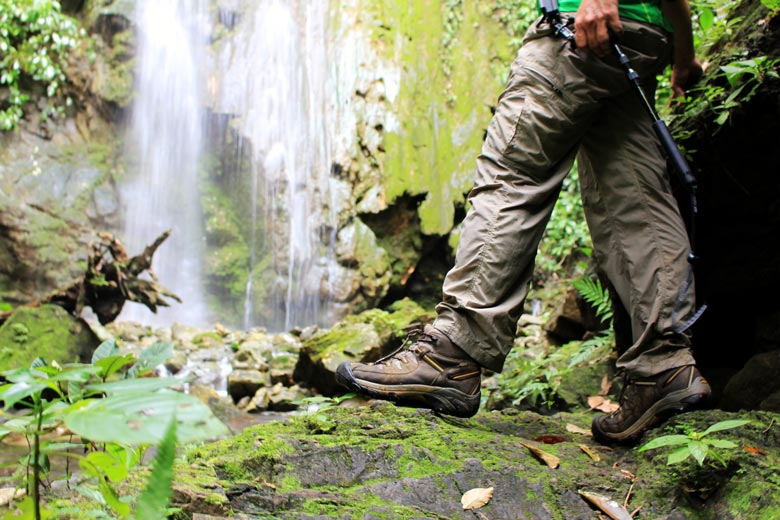 costa rica travel gear - keen hiking boot