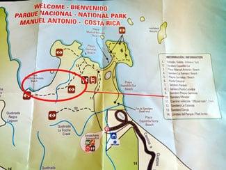 Our guide to hiking Manuel Antonio National Park - sendero mirador