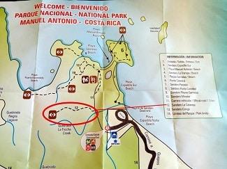 The complete guide to hiking Manuel Antonio National Park - sendero la catarata