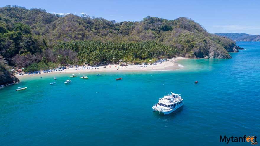 Best beaches in Costa Rica - Tortuga Island