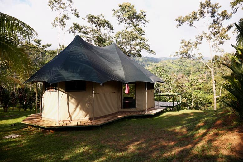 Manoas resort in Uvita - luxury tent to go glamping
