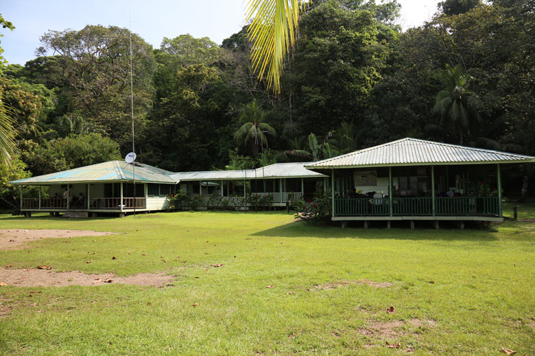 San Pedrillo and Sirena Station in Corcovado National Park - San Pedrillo station