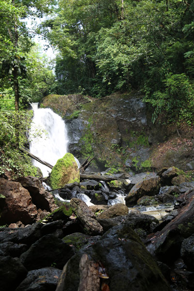 San Pedrillo and Sirena Station in Corcovado National Park - waterfall