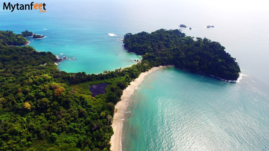 best beaches in Costa Rica - Playa Manuel Antonio