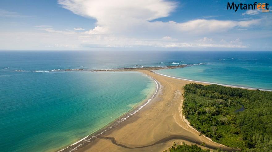 best beaches in Costa Rica - Playa Uvita Marino Ballena National Park
