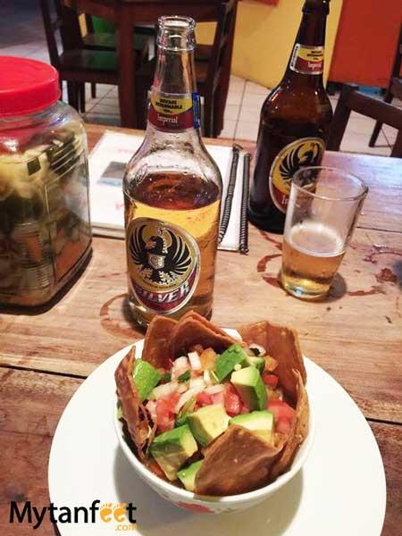 Costa Rican food - chirfrijo