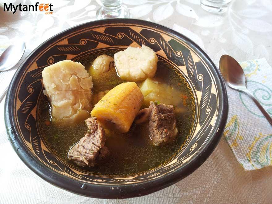 Costa Rican dishes - olla de carne