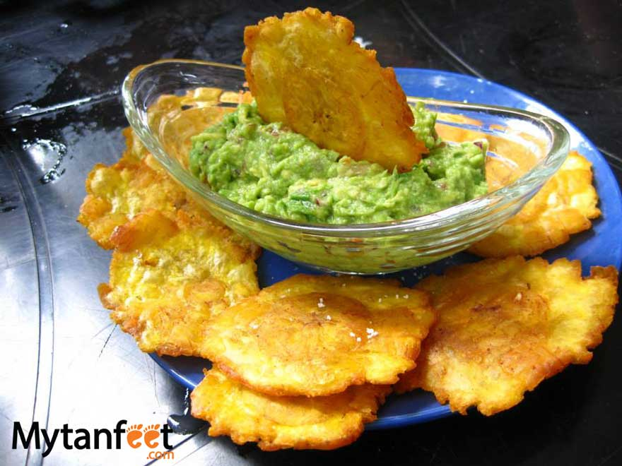 Costa Rican dishes - patacones