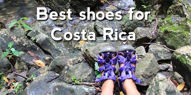 best shoes for costa rica