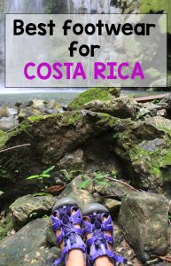 Guide to footwear - what are the best shoes for Costa Rica
