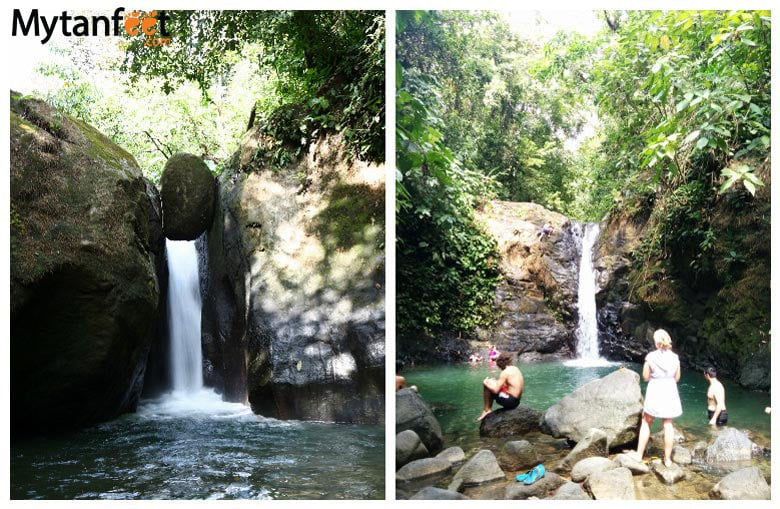 things to do in uvita and dominical - waterfalls