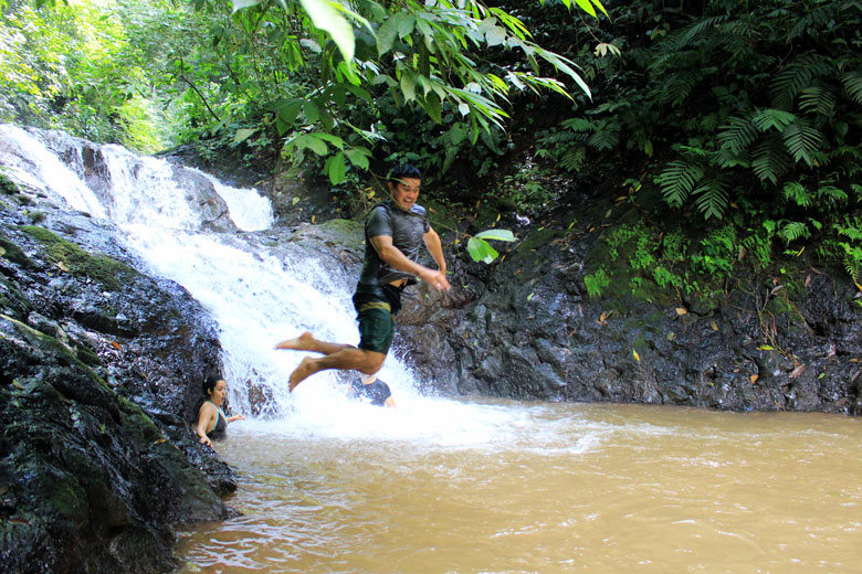 what its like to live in jaco - exploring waterfalls in the hills. Find out what living in Jaco is really like