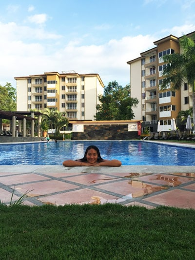 what its like to live in jaco - pool at condo complex. Find out what living in Jaco is really like