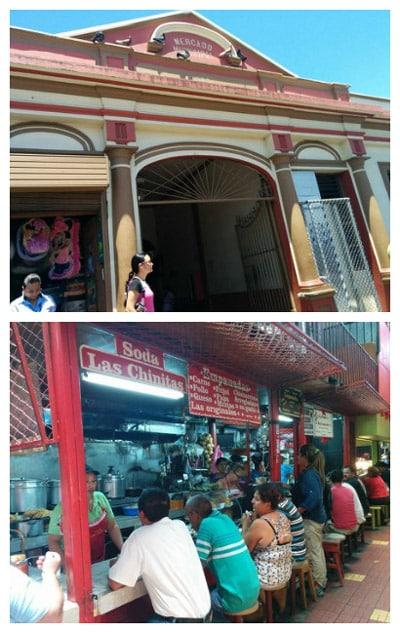 Heredia old market