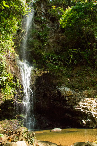 10 reasons to visit the central valley in Costa Rica - hidden waterfall in grecia