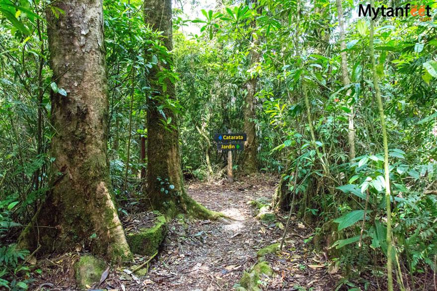 Catarta del Toro trail
