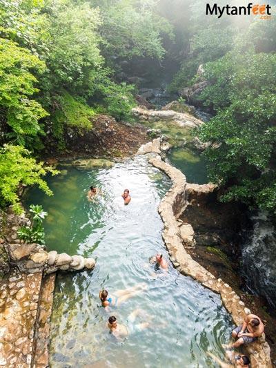 La Cangreja waterfall Rincon de la Vieja National Park