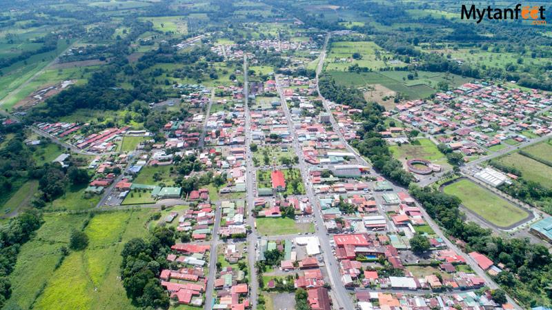 La Fortuna Costa Rica town