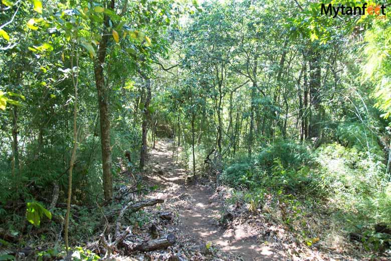 Rincon de la Vieja waterfall trail
