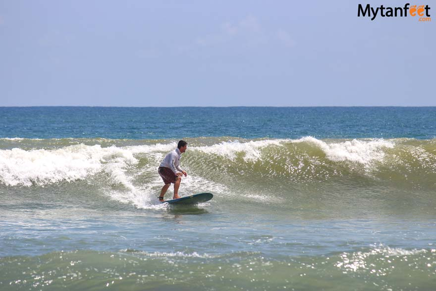 Things to do in Jaco surfing