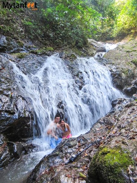 Costa Rica experiences - jaco waterfall