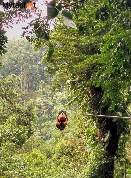 Costa Rica experiences - skytrek ziplining