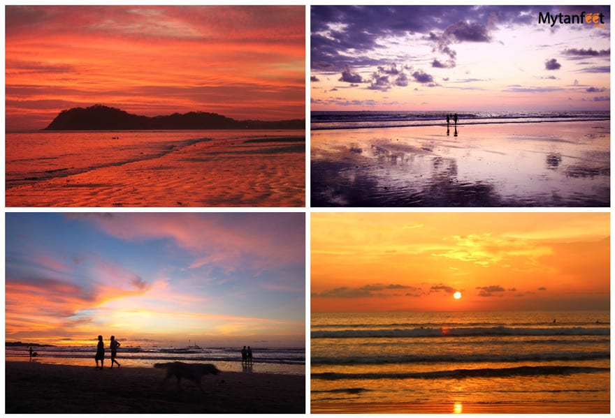 Costa Rica experiences - sunset