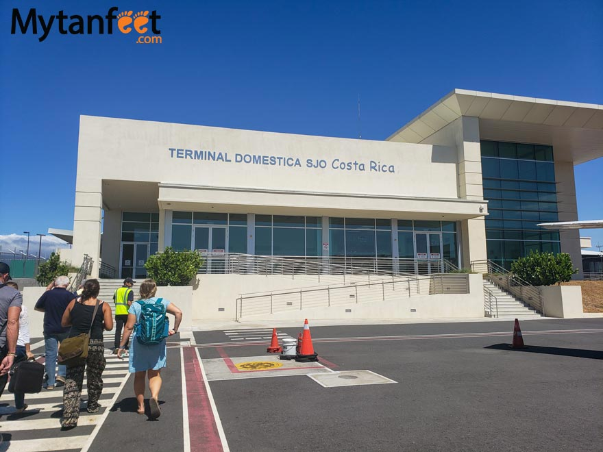 sjo domestic terminal
