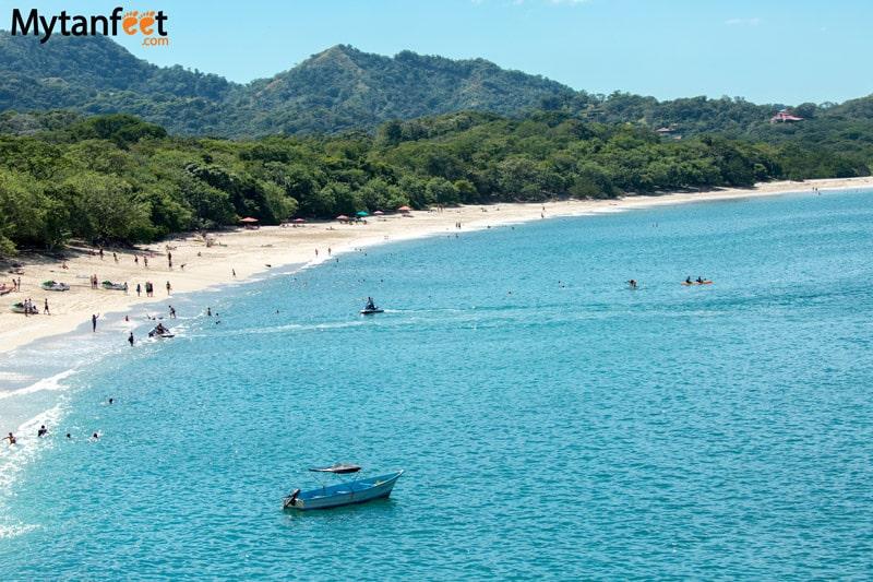 packing for rainy season in costa rica - beach