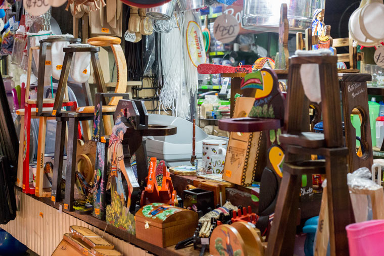 Heredia cultura tour - Heredia Market souvenirs