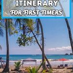 1 Week Costa Rica itinerary: central and South Pacific. Great itinerary for first timers!