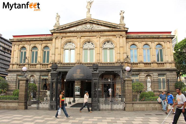 National theater in san jose.