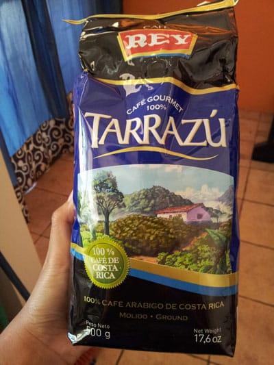Best souvenirs from Costa Rica - Tarrazu coffee