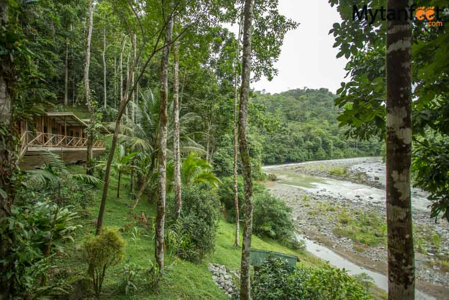 2 day white water rafting trip in Costa Rica at RIo Pacuare with Rios Tropicales: the lodge on the river