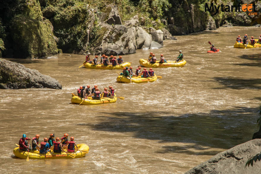 2 day white water rafting trip in Costa Rica: Rio Pacuare rafting