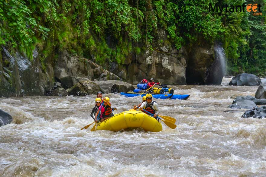 2 day white water rafting trip in Costa RIca - Rio Pacuare with RIos Tropicales: waterfall