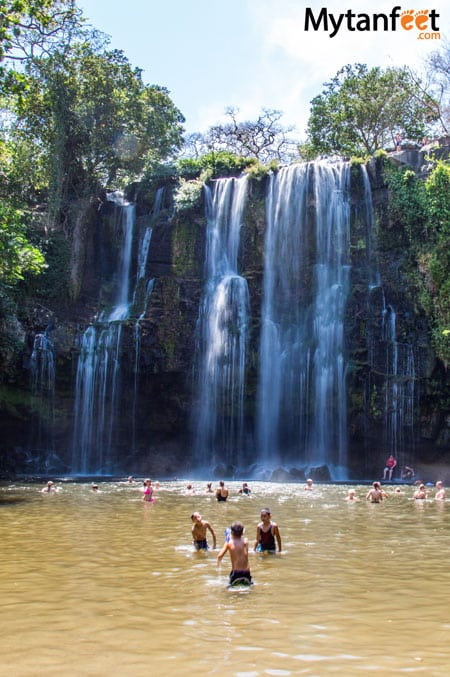 Awesome things to do in Guanacaste- catarata llanos de cortes